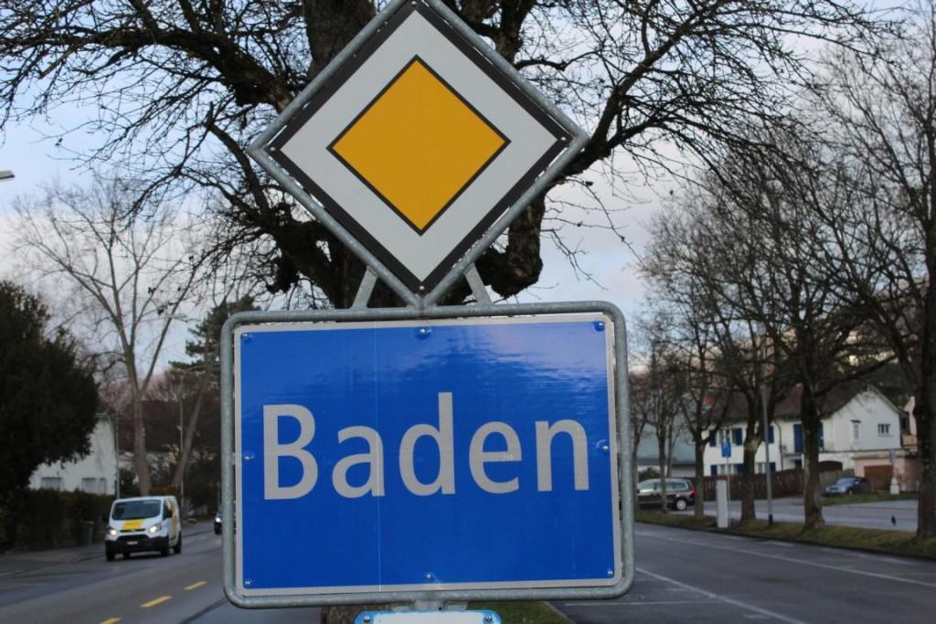 i54 Schild Baden